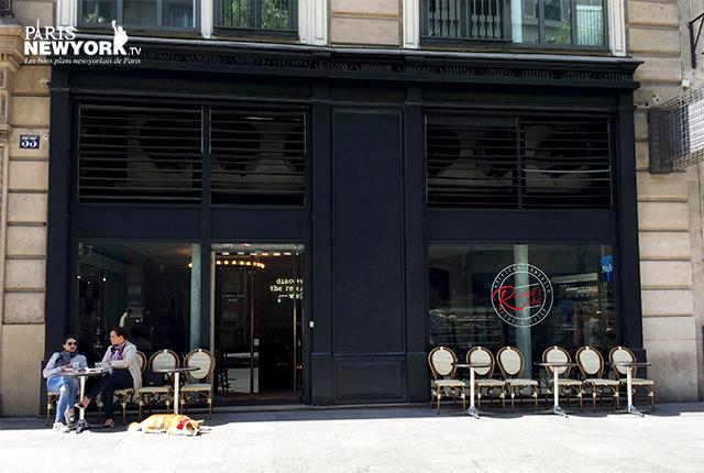 Café - boutique Rachel's Cake / Replay - Paris New York TV - © Aurélie Garreau