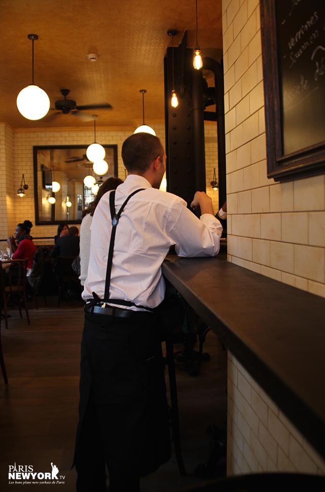 Serveur Bieh restaurant Paris New York