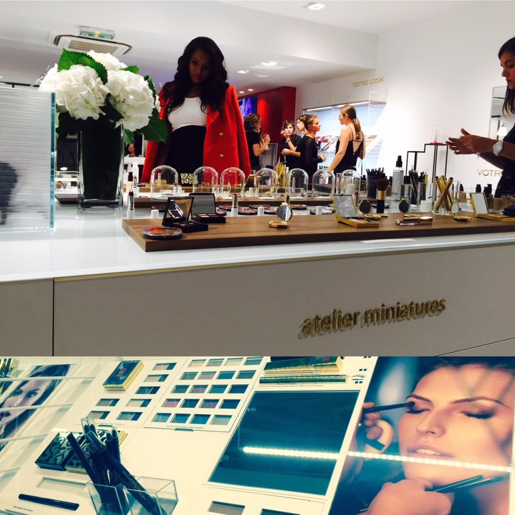 Boutique éphémère Elizabeth Arden Galerie Passy Plaza Paris 16