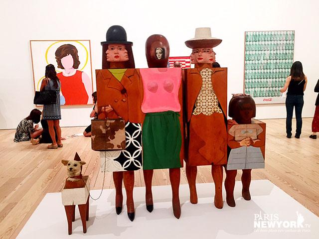 Whitney Museum New York Marisol Women and Dog