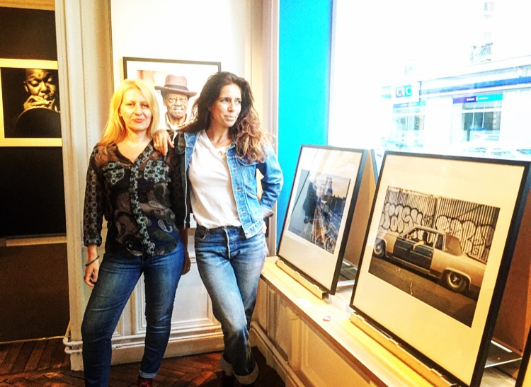 Stéphanie Fontenoy et Eva Sakellarides à la maison des Etats-Unis