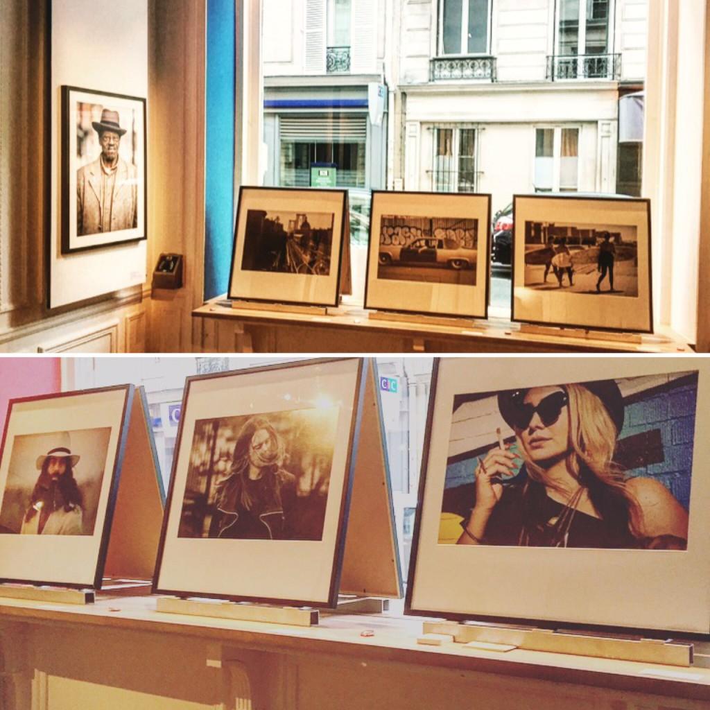 Exposition d'Eva Sakellarides du New York L'Essentiel à la maison des Etats-Unis