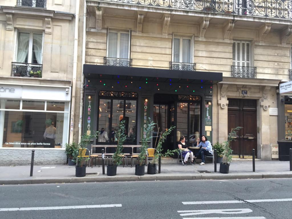 coffee club rue d'assas
