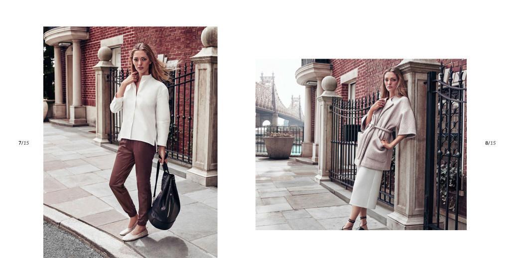 Massimo Duti collection New York 2015 habits