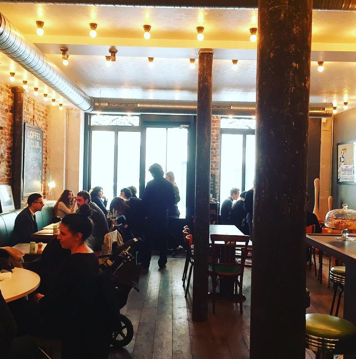 La salle du Coffee Club rue d'Assas à Paris