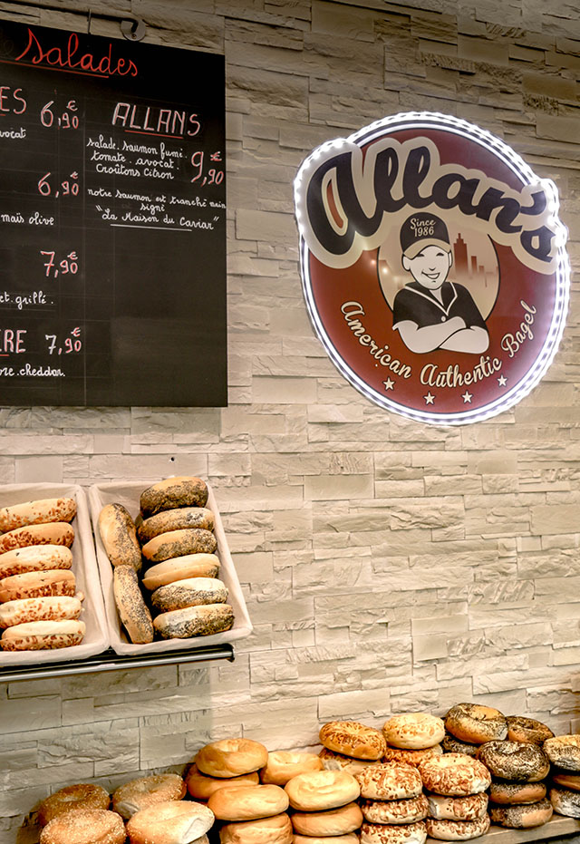 restaurant bagels allans paris
