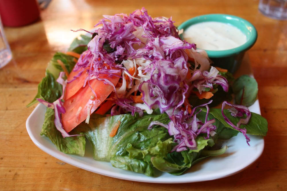 salade au tofu chez quantum leap
