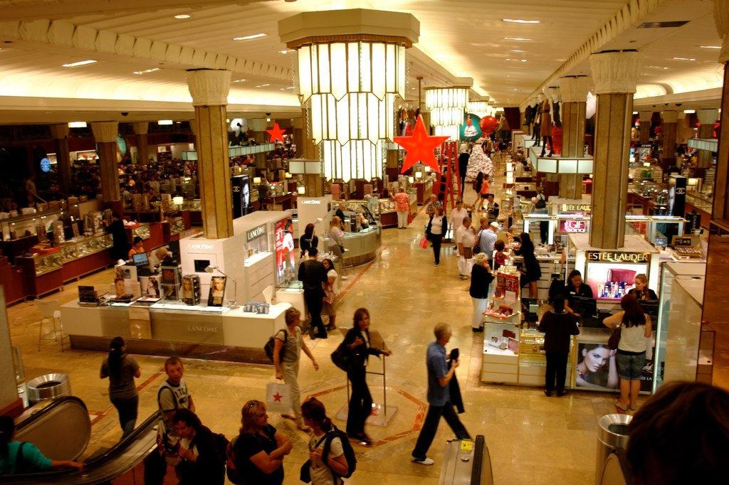 intérieur du magasin Macy's à New York