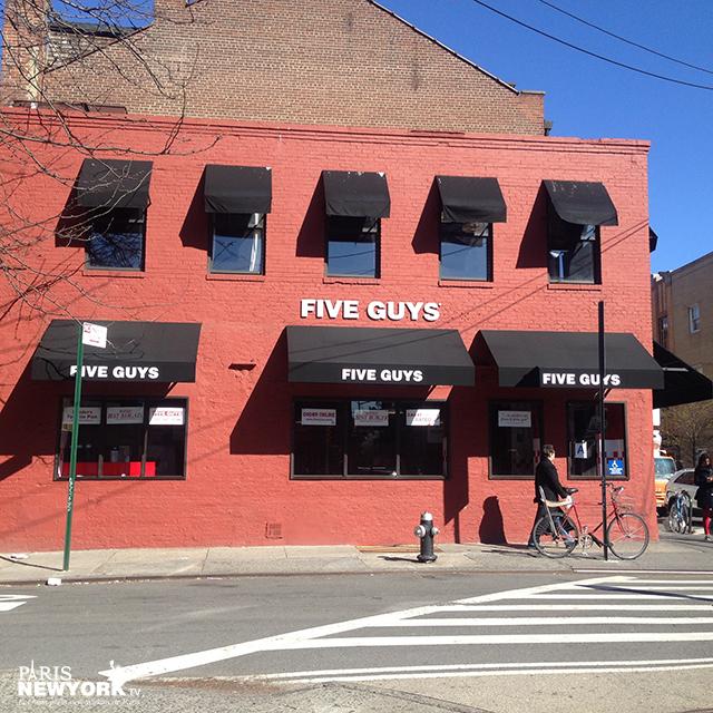 five guys bleecker street new york