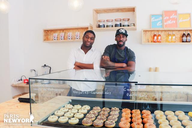 les fondateurs de la boutique les petits donuts