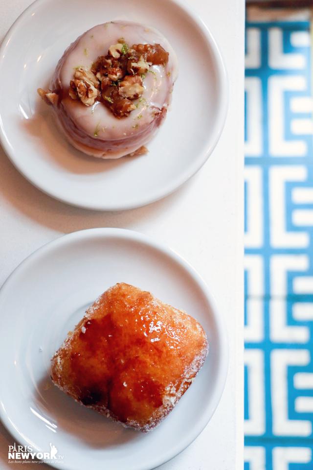donut noix de décan chez obladi à paris