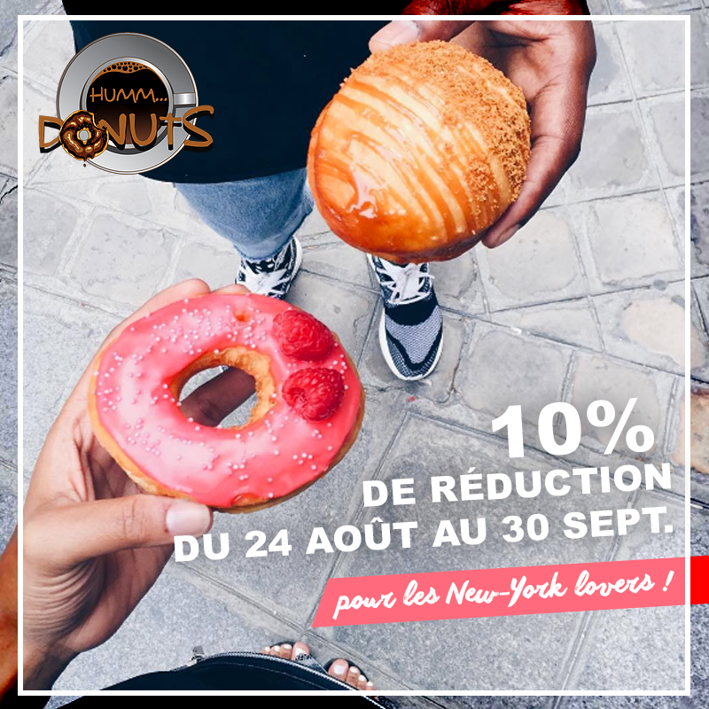 réduction donuts à paris