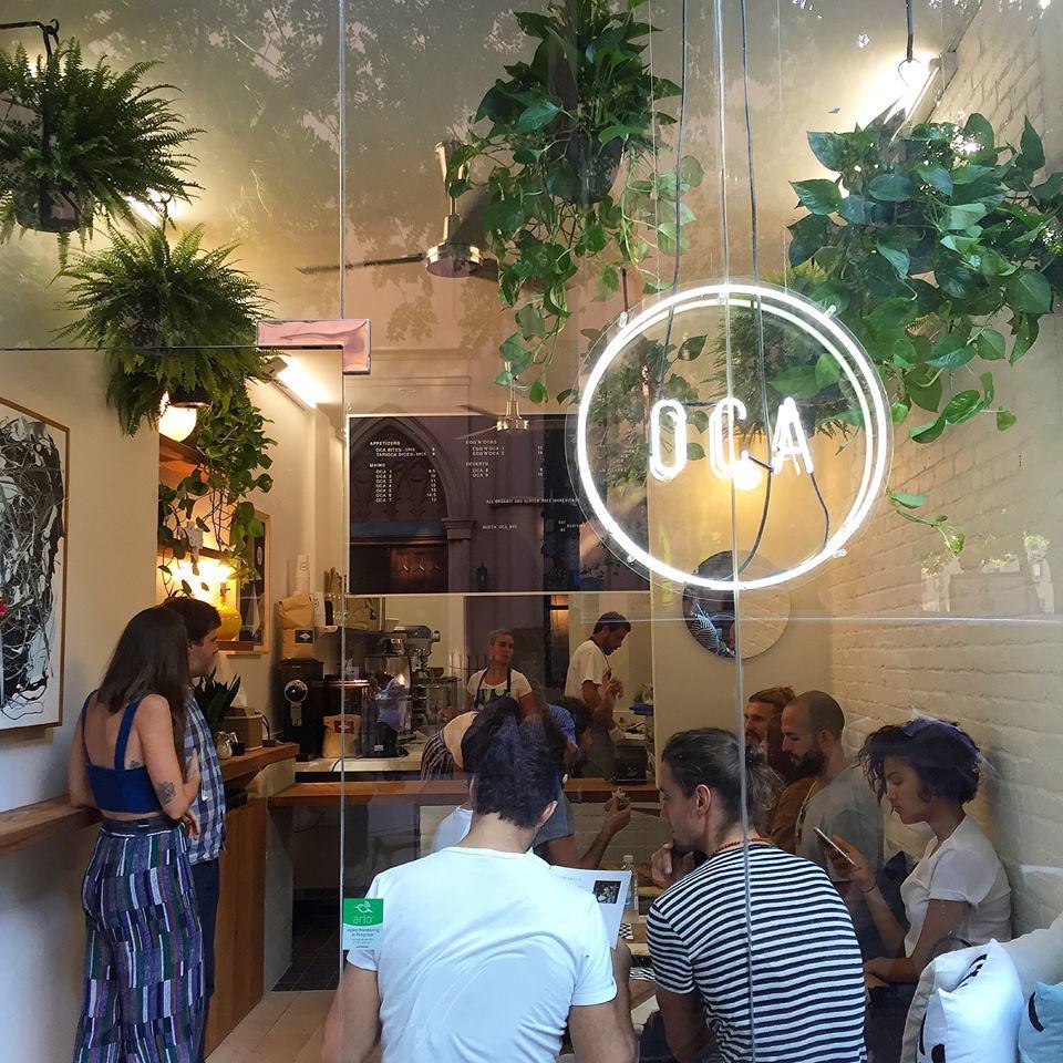 oca restaurant newx york crêpes de tapioca
