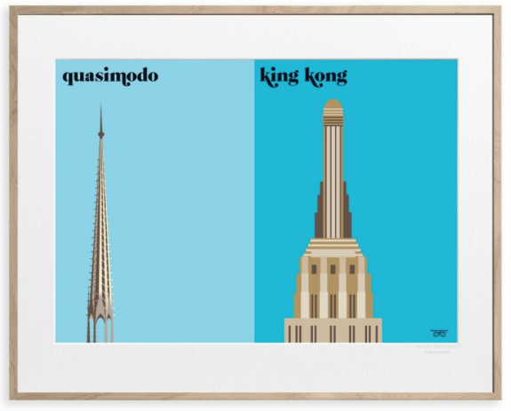 quasimodo king kong paris versus new york