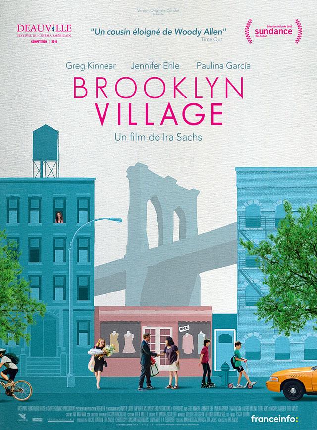 affiche du film brooklyn village paris new york tv