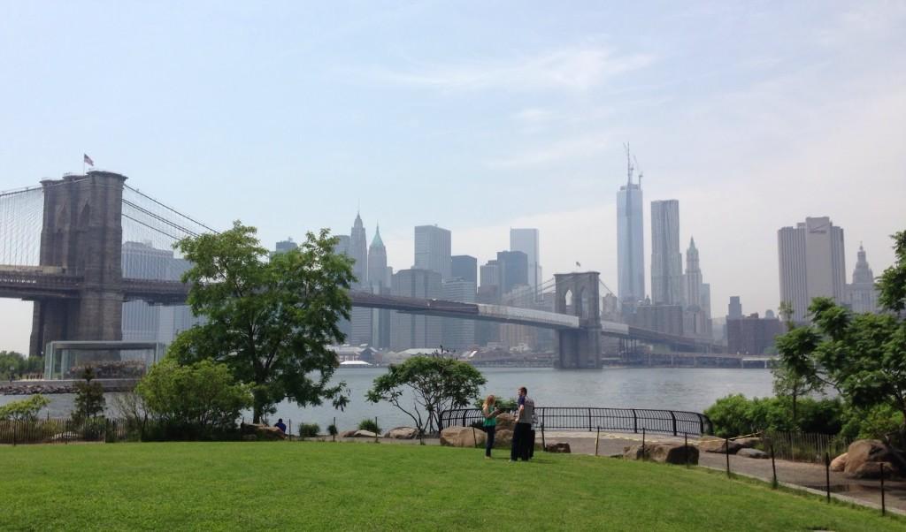 Parc Dumbo, au pied du pont de Brooklyn à New York - D.R.