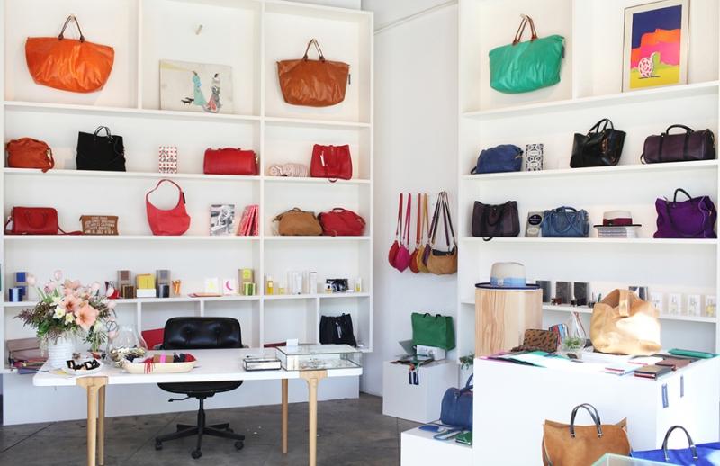 Boutique de Clare Vivier à New York - D.R.