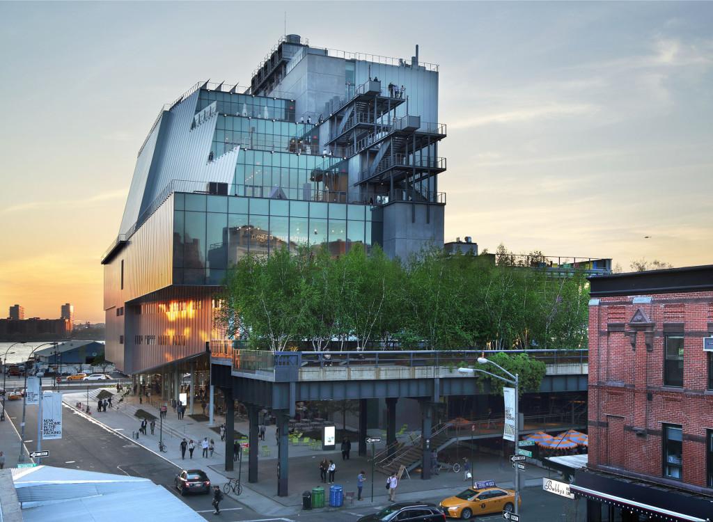 Façade du Whitney museum - New York - D.R.