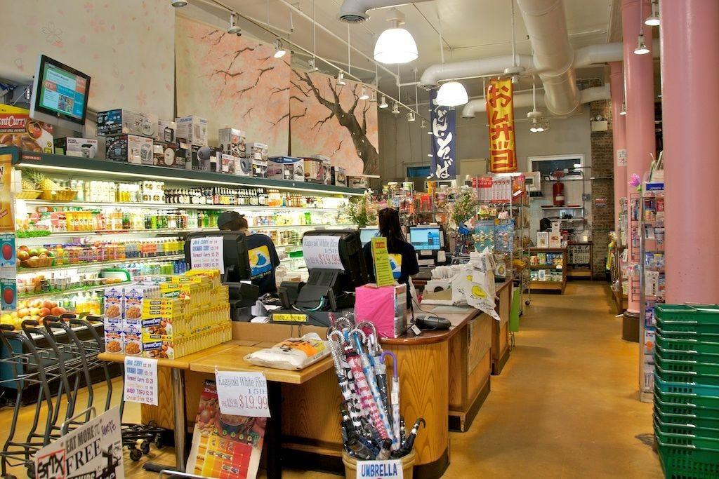 sunrise-mart, magasin d'alimentation japonais à New York - D.R.