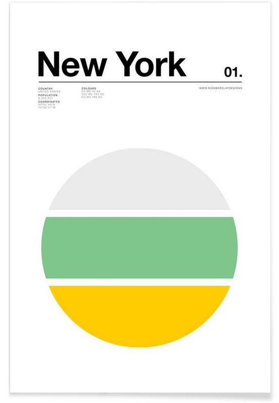affiche new york junique