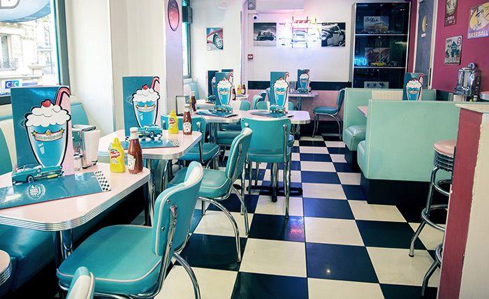 milkshake chez HD diner