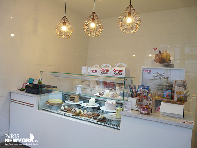 un large choix de gâteaux chez love and cakes