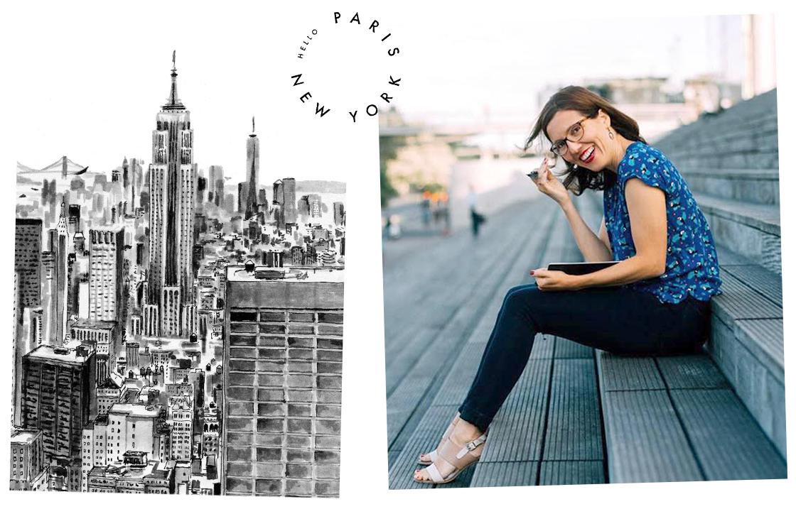 Atelier #1 Dessiner New York, avec l'artiste Marielle Durand