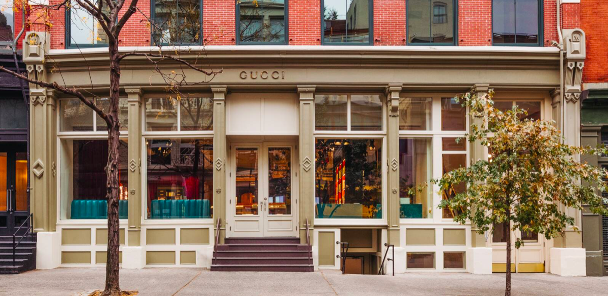 La librairie Gucci à New York